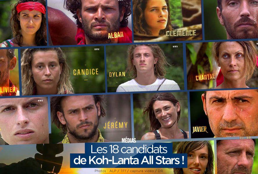 Les 18 candidats de Koh-Lanta All Stars ! #KohLanta
