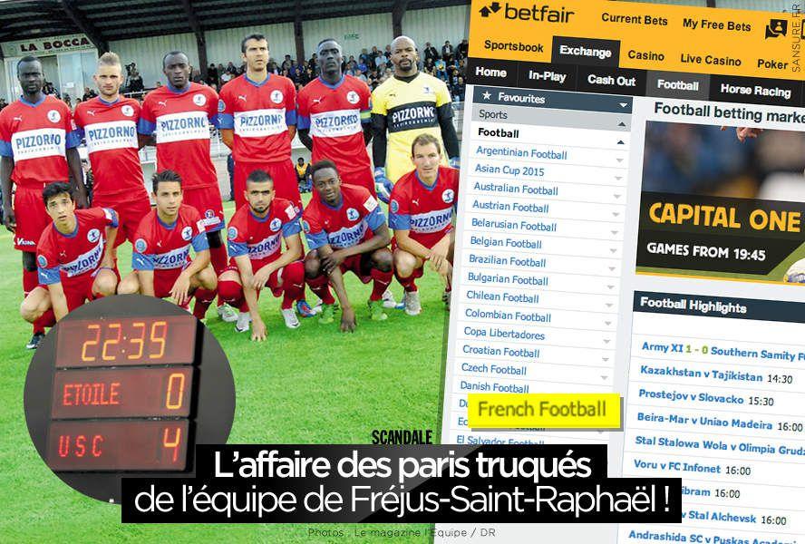 L'affaire des paris truqués de l'équipe de Fréjus-Saint-Raphaël ! #Football