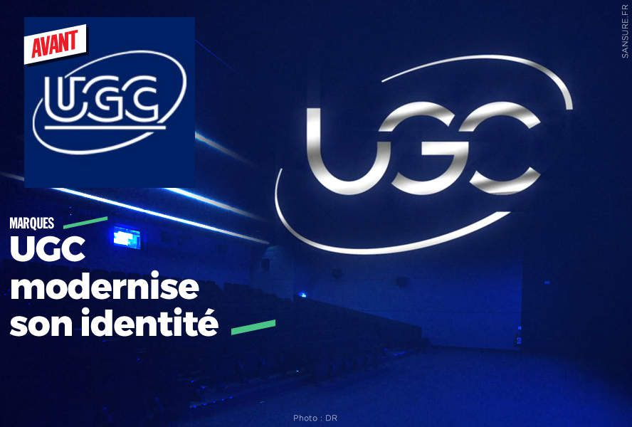 UGC modernise son identité #logo