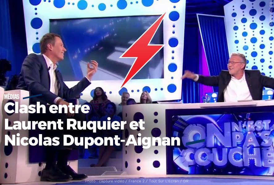 Clash entre Laurent Ruquier et Nicolas Dupont-Aignan #ONPC