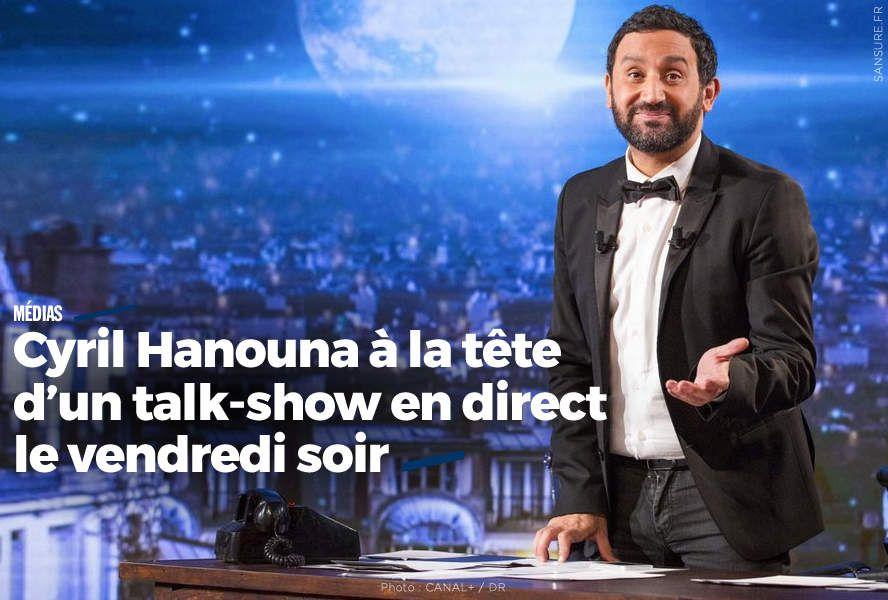 Cyril Hanouna à la tête d'un talk-show en direct le vendredi soir #C8