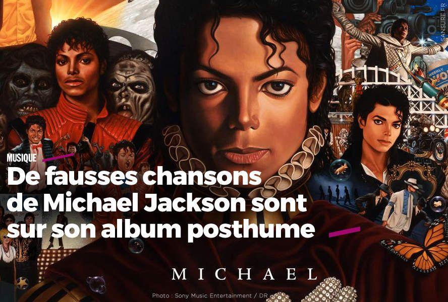De fausses chansons de Michael Jackson sont sur son album posthume #fake