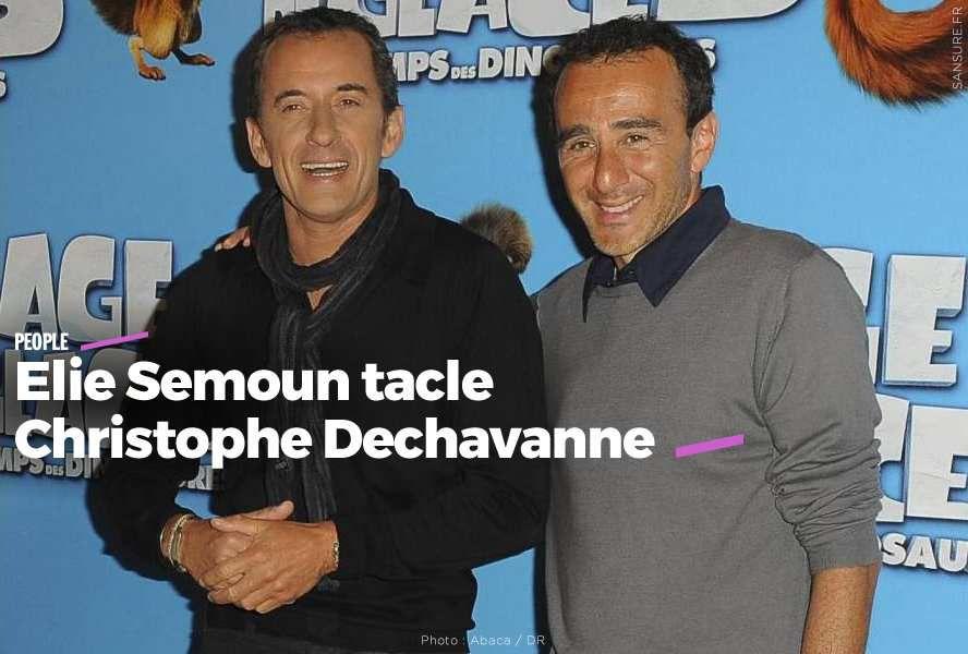 Elie Semoun tacle Christophe Dechavanne #clash