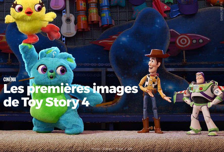 Les premières images de Toy Story 4 (vidéo) #ToyStory4