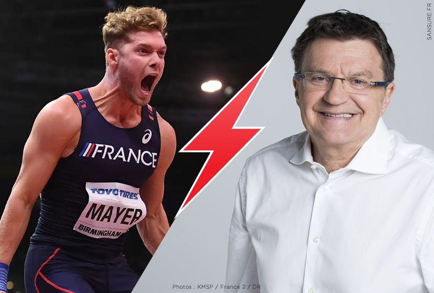 Clash entre Kevin Mayer et Patrick Montel sur le dopage ! #clash
