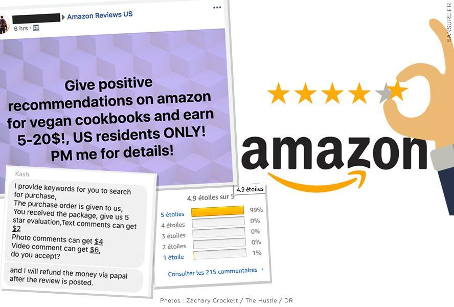 Amazon et ses faux avis épinglés ! #Amazon