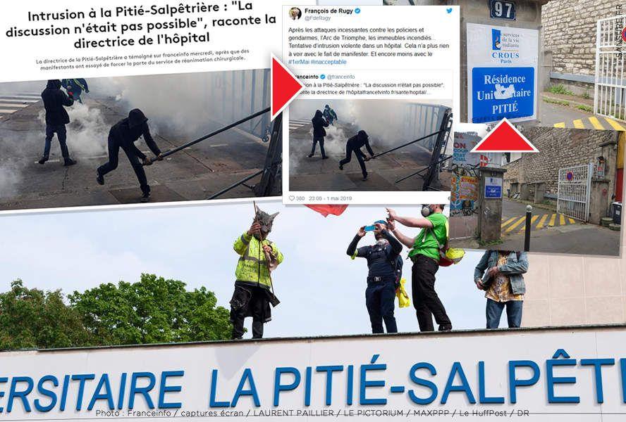 Les contre-vérités sur l'intrusion de l'hôpital de la Pitié-Salpetrière ! #PitieSalpetriere