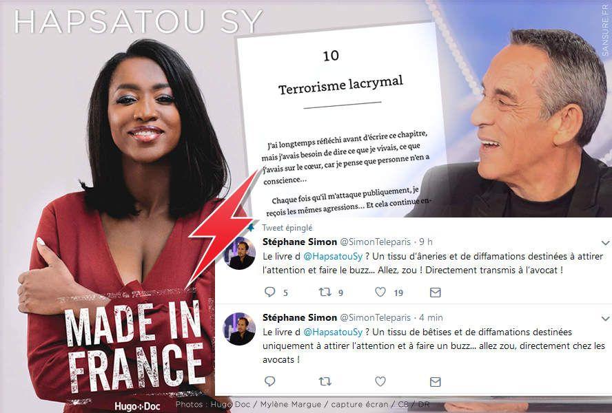 Hapsatou Sy tacle violemment Thierry Ardisson dans son dernier livre ! #clash