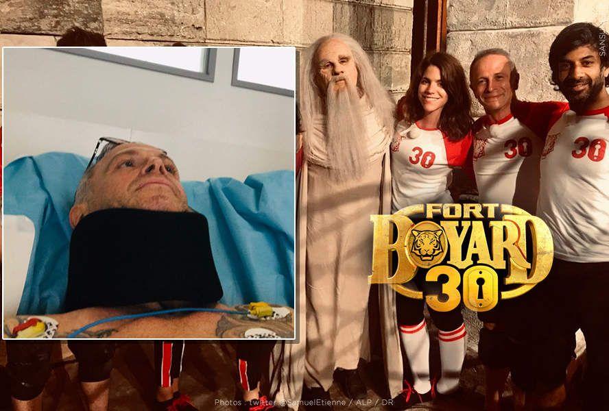 Samuel Etienne blessé sur le tournage de Fort Boyard ! #FortBoyard