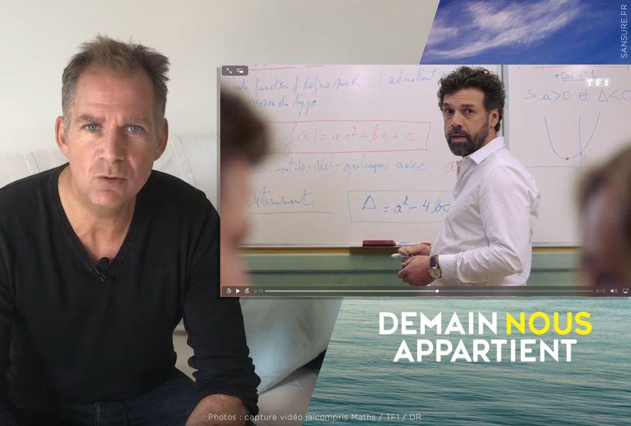 Un prof de math censuré par TF1 lance une pétition ! (Vidéo) #DNA
