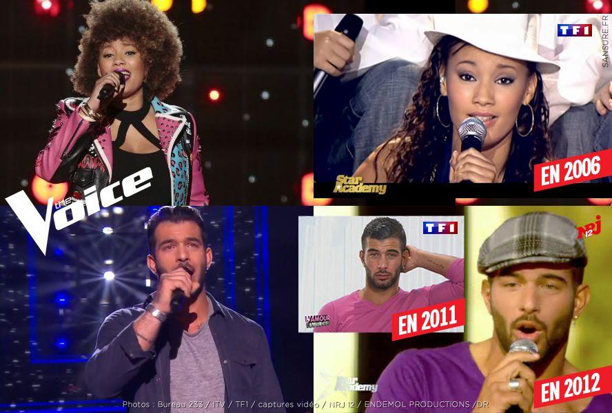 Deux anciens candidats de la Star Academy échouent dans The Voice ! (Vidéos) #TheVoice