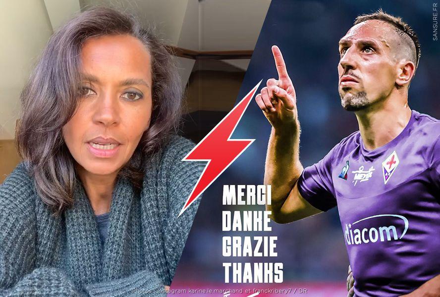 Clash entre Franck Ribéry et Karine Le Marchand ! #Photomontage