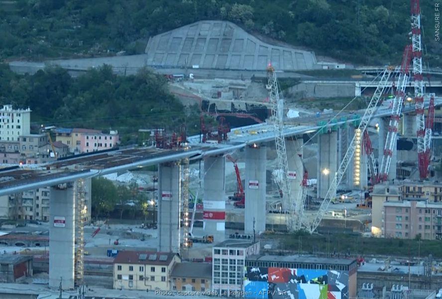 Le nouveau pont de Gênes va bientôt être inauguré ! #Gênes
