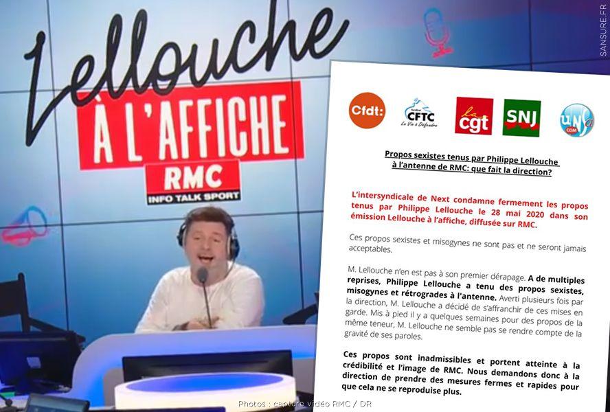 Philippe Lellouche viré de RMC après des propos sexistes ! #RMC