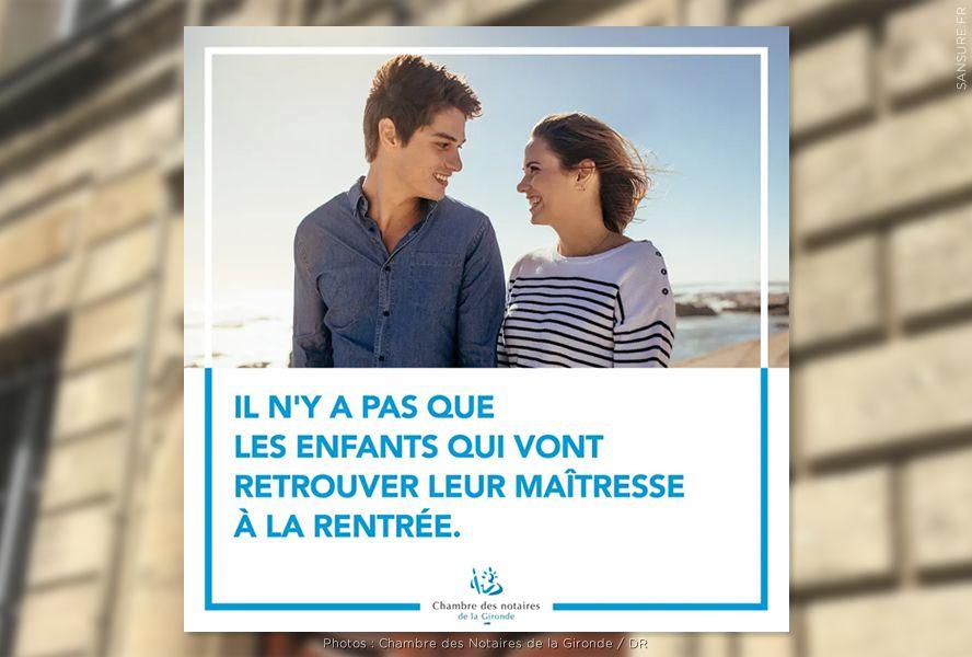 La campagne choc des Notaires de la Gironde ! #Notaires