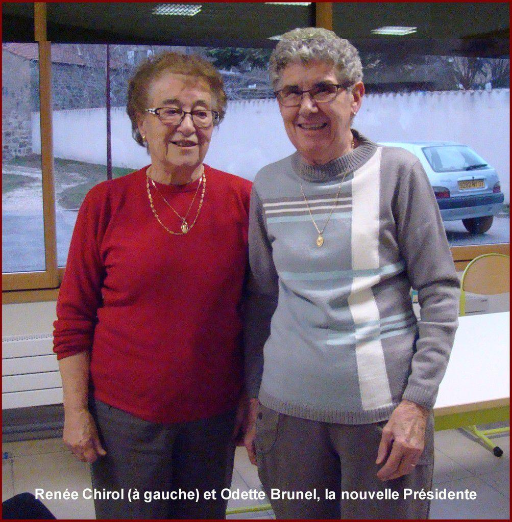 Une nouvelle Présidente pour le club des aînés ruraux de Vernosc-lès-Annonay