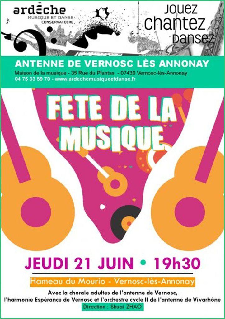 Fête de la musique 2018 à Vernosc-lès-Annonay