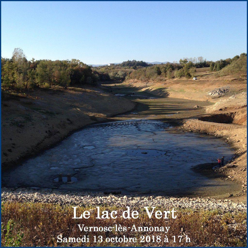 Vernosc-lès-Annonay - Le lac de Vert est à sec !