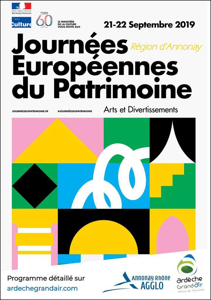Journées Européennes du Patrimoine - Région d'Annonay