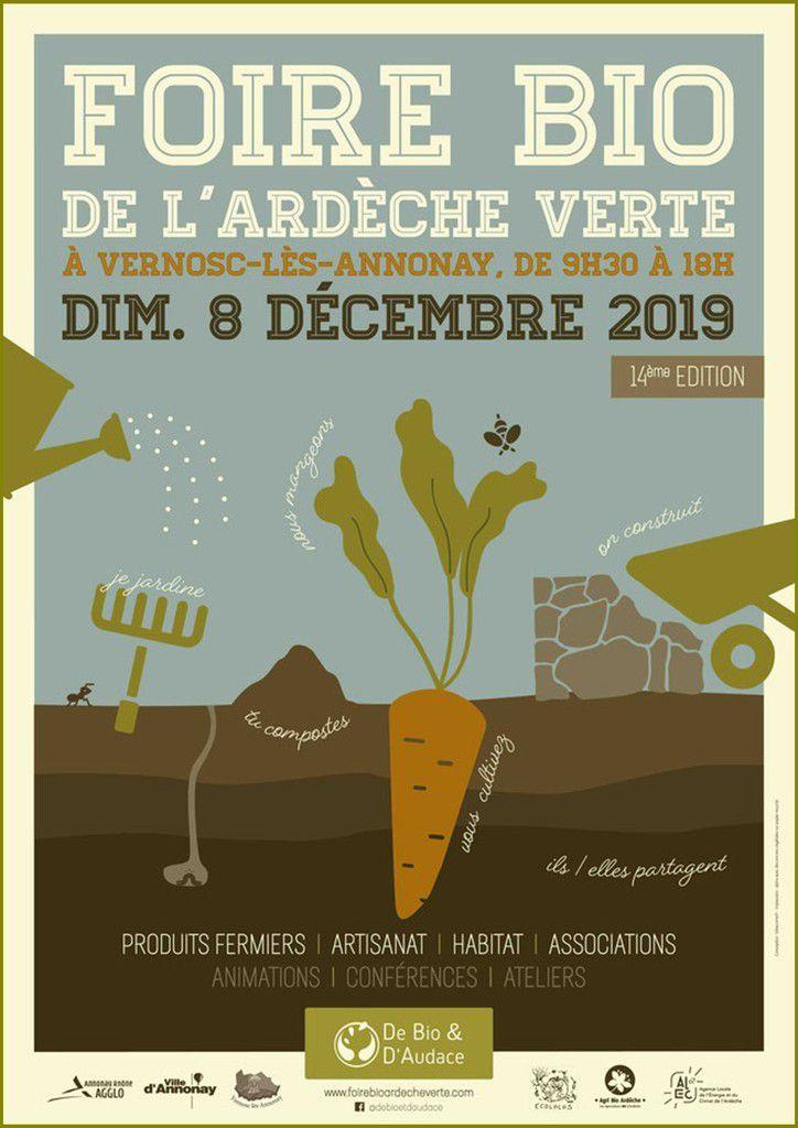Foire Bio de l'Ardèche Verte 2019 à Vernosc-lès-Annonay