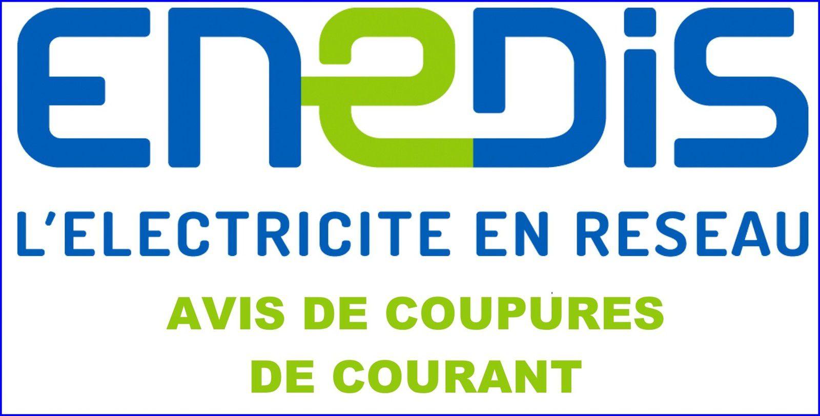 Coupures d'électricité à Vernosc-lès-Annonay