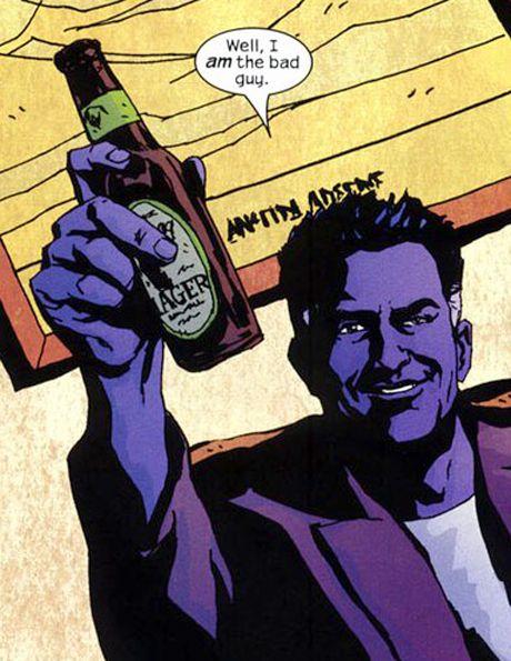 The Purple Man !