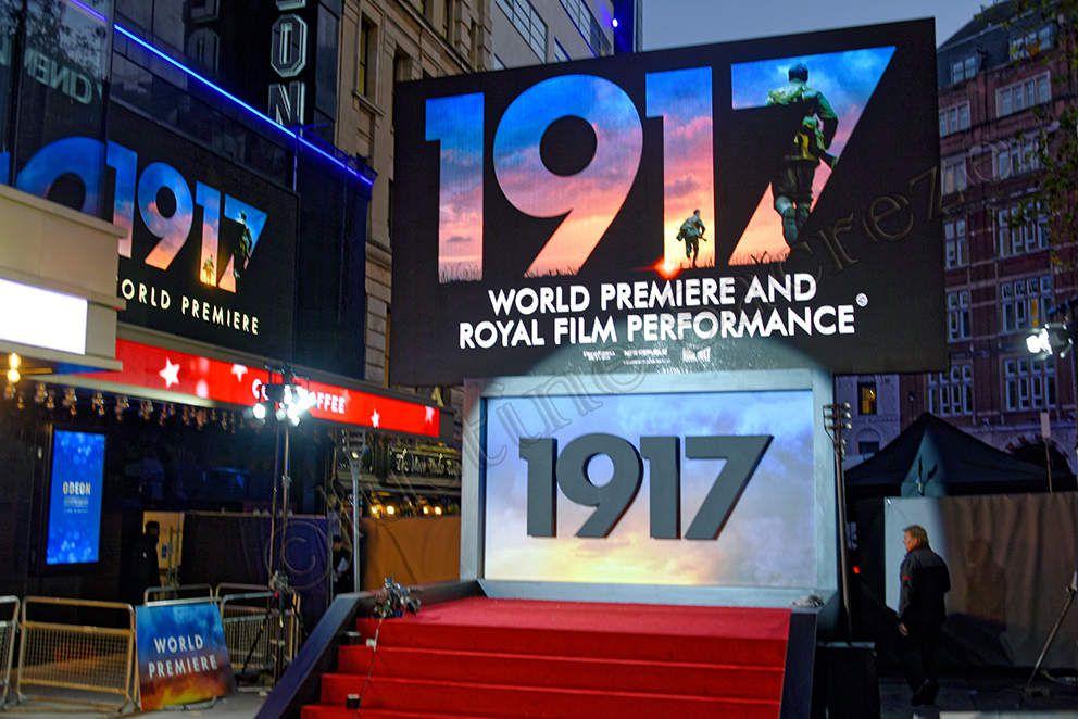 1917, le nouveau film de Sam Mendes, Royal & World Premiere au cinéma Odéon Luxe !