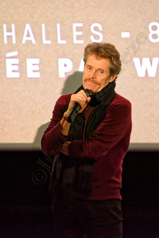 Willem Dafoe au cinéma UGC Ciné Cité Les Halles pour présenter son film Tommaso !
