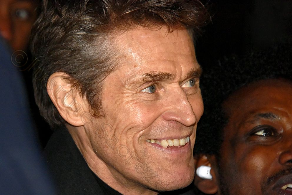 Willem Dafoe, Londres 2019, for Bafta: A Life in Pictures.