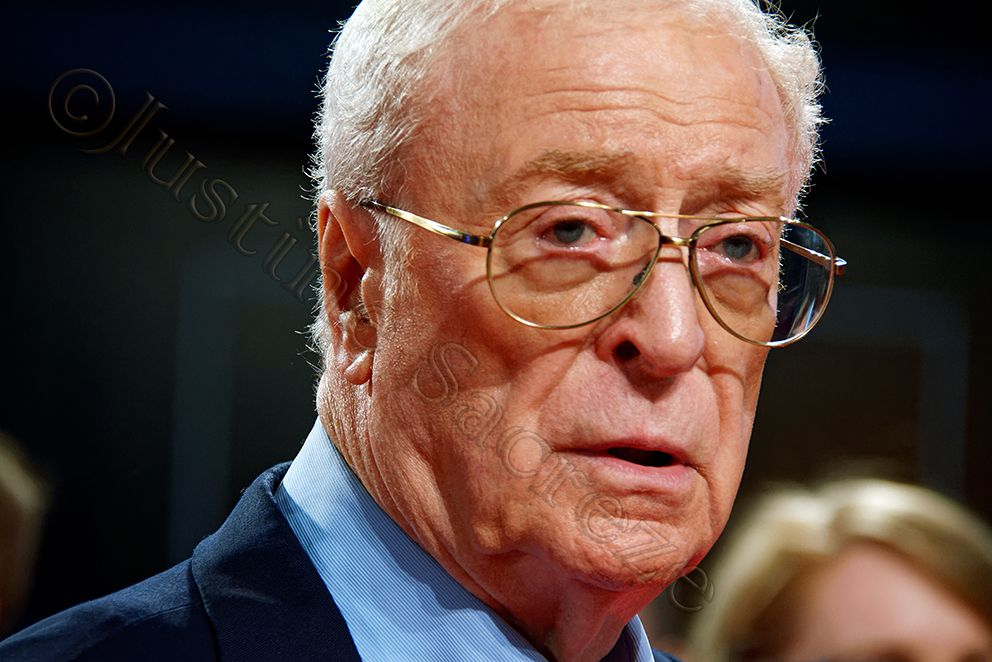 Michael Caine, The Last Witch Hunter European Premiere Cineworld Leicester Square, 2015.