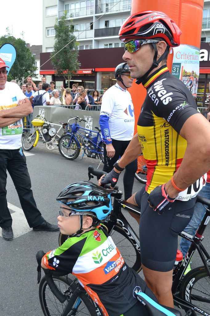 David BOUCHER (Belgique) et son fils.