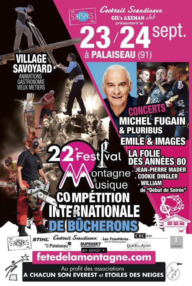 Festival Montagne et Musique à Palaiseau les 23 et 24 septembre 2017