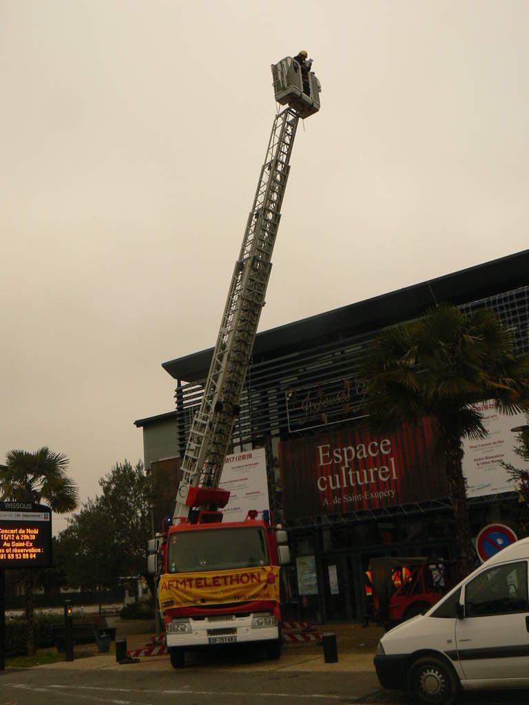 Du côté des pompiers.