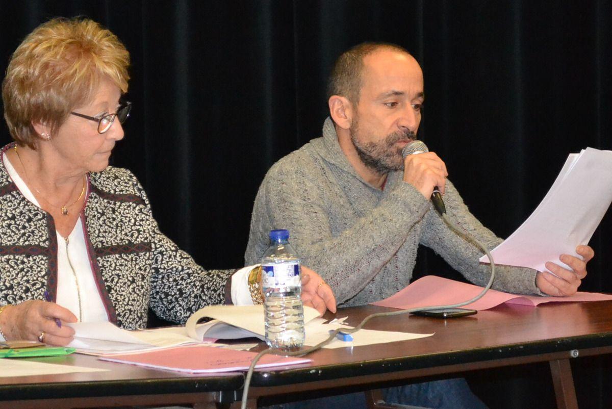 Le bureau: Pierre, Carmen et Stéphane.