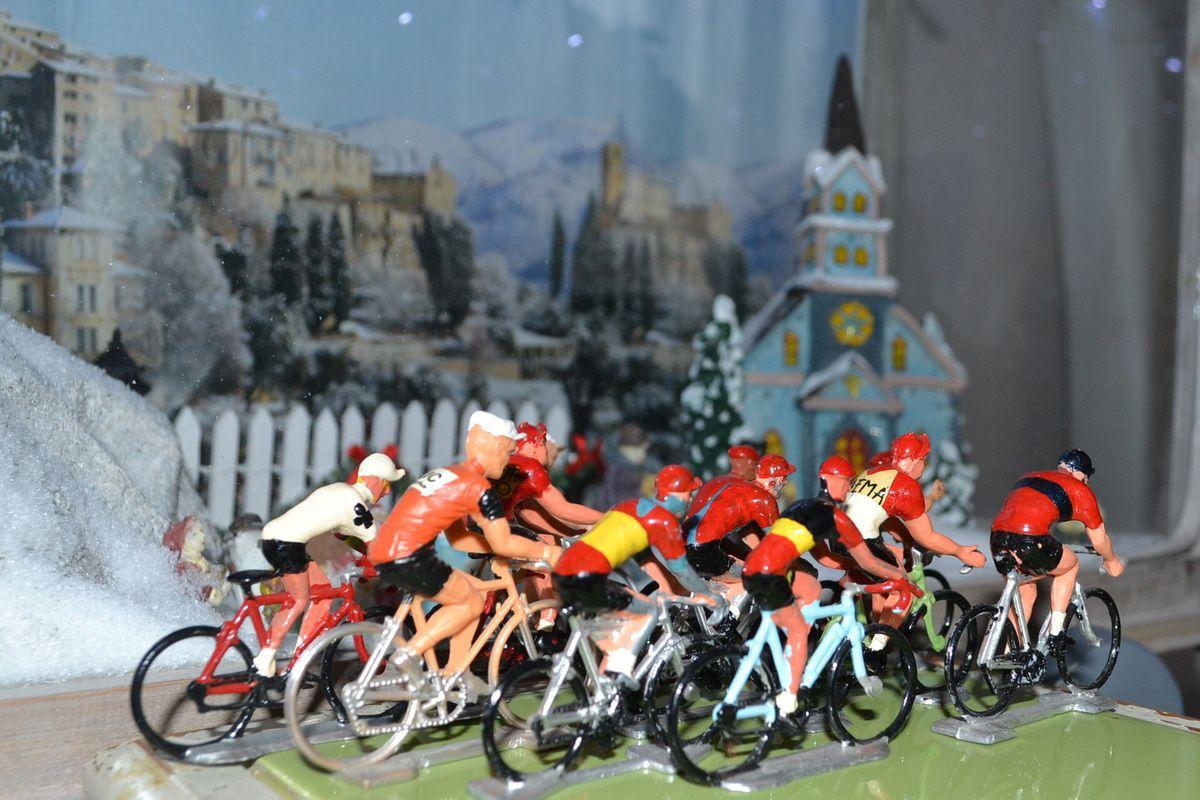 Miniatures cyclistes