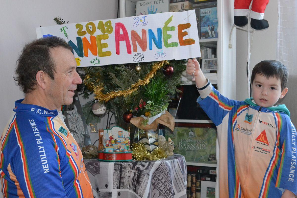 Bonne Année 2108 à mes coéquipiers Nocéens