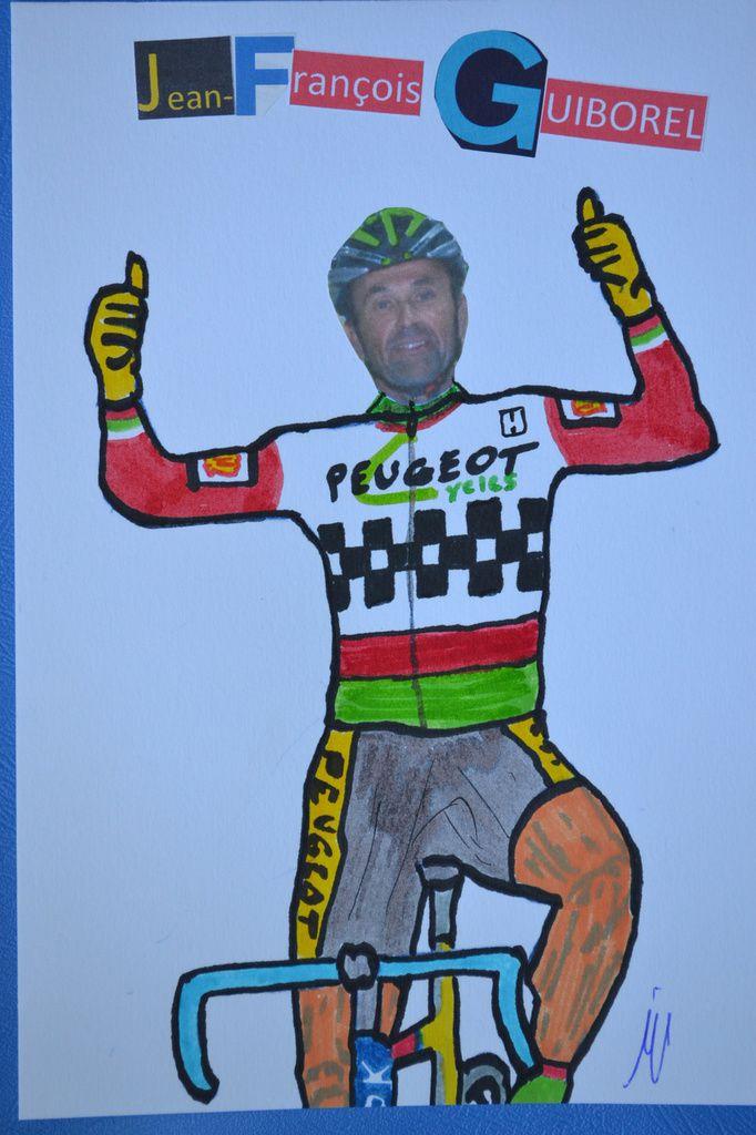 Jean-François GUIBOREL (CSM Puteaux), chef de piste au vélodrome de SQY.