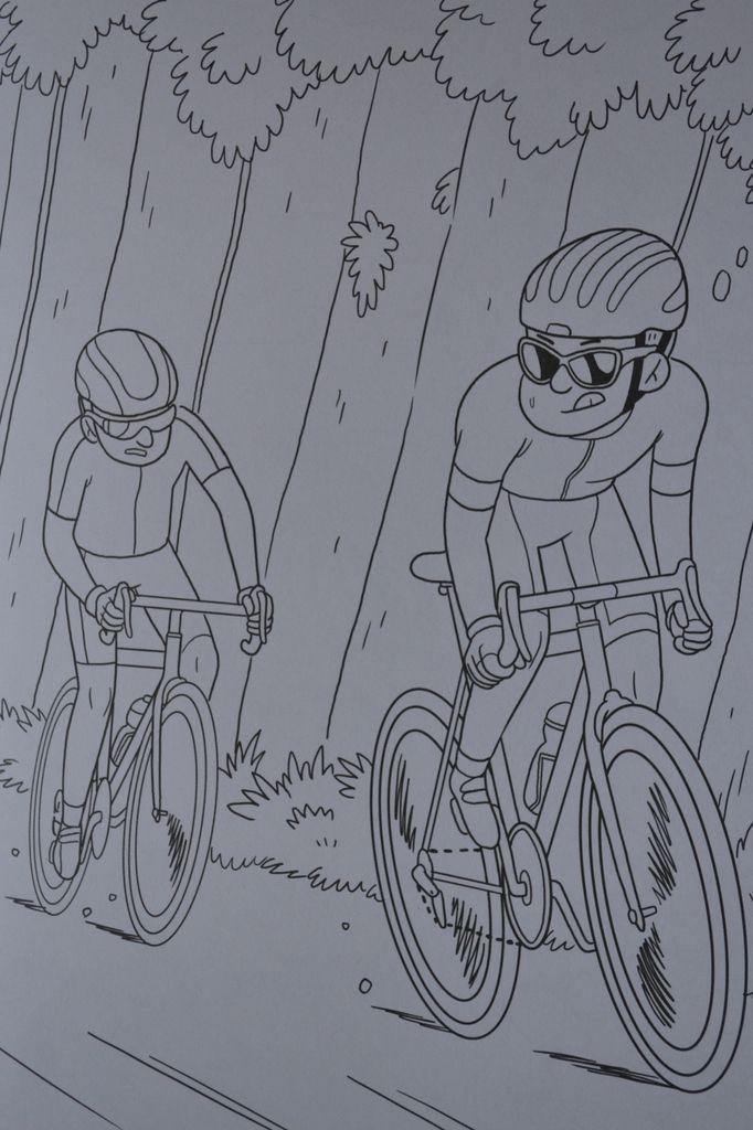 Album de coloriages: sur la route du Tour.