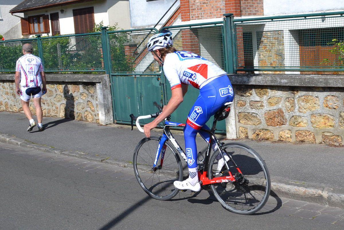 Orsay 2015: présence de Yoann sur notre course ufolep.