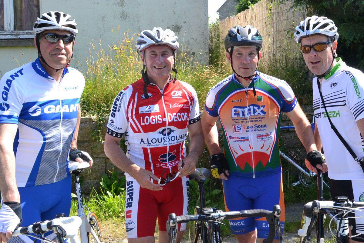 2013: avec Christian LEVAVASSEUR et Jean-Louis CONAN.