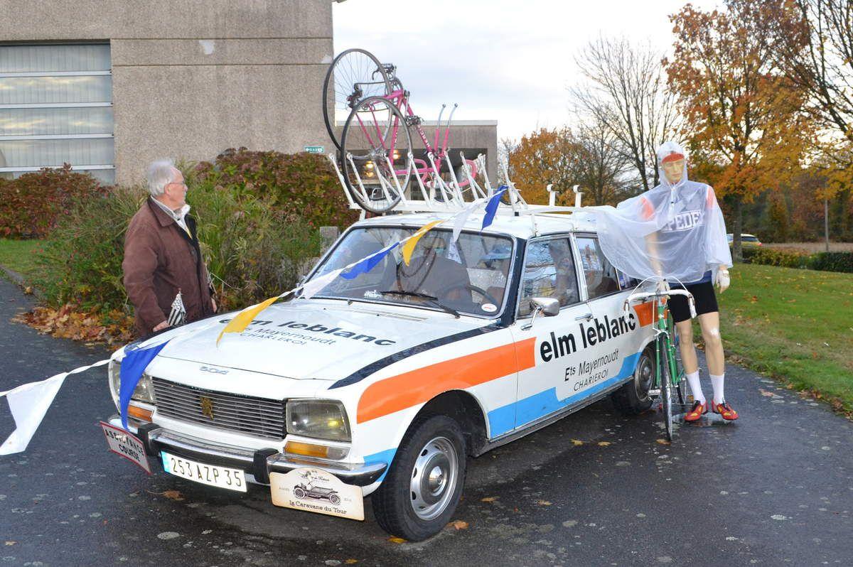 """La voiture du film """"Le Vélo"""" avec Benoit POULVORDE"""