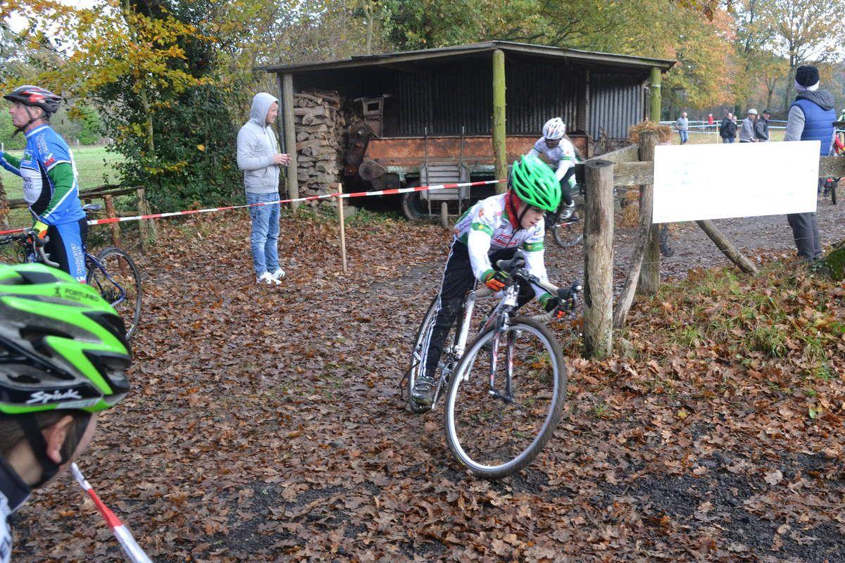 Cyclo-Cross de Pleslin-Trigavou: FSGT, 24 novembre 2018: jeunes