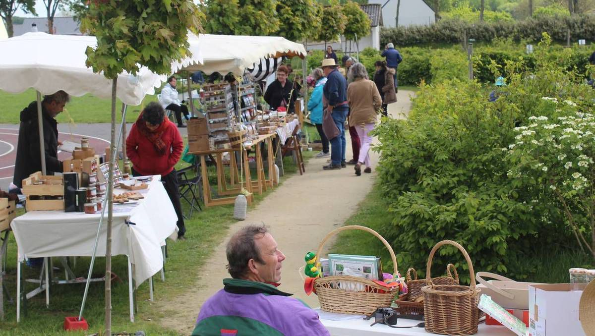 BELLE JOURNEE DE PRINTEMPS A LA FETE DES VEGETAUX A LANGUEDIAS - 11 MAI 2019
