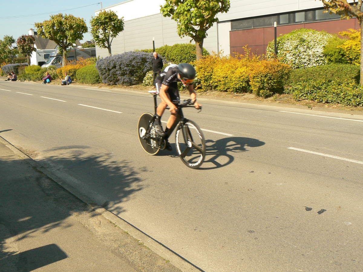 Tom AGUILLON (CC Rennes - Bretagne), un peu déçu de sa course.