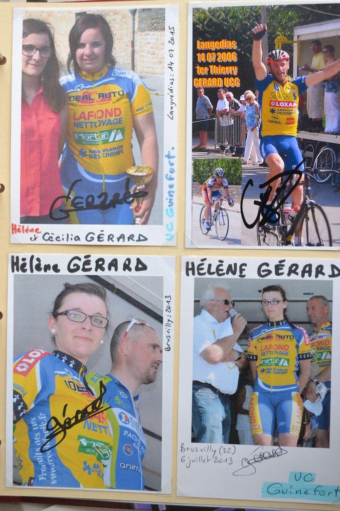 UC Guinefort : Cécilia, Hélène et Thierry GERARD.