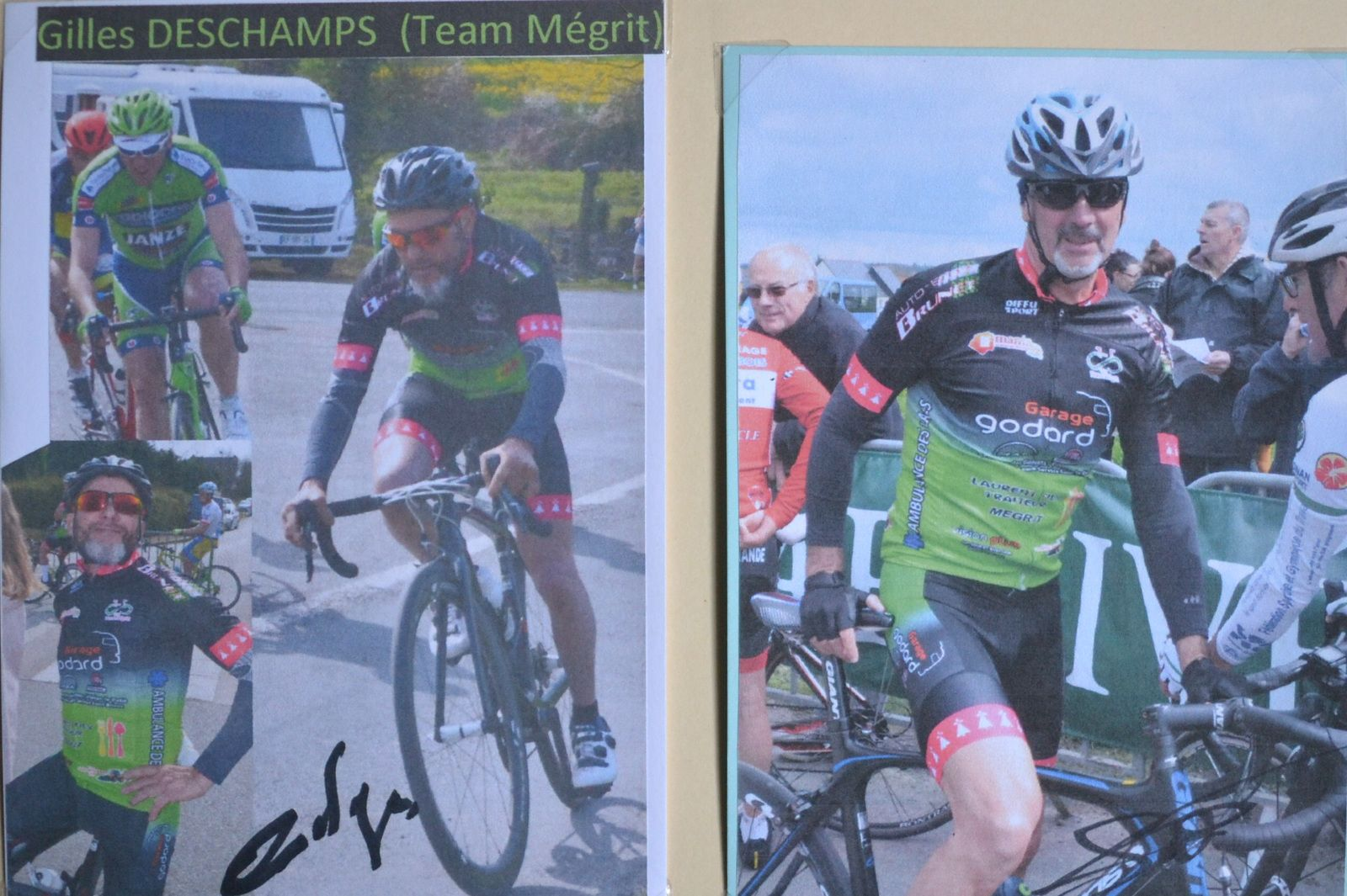 Team Mégrit : Gilles DESCHAMPS, Pascal GABILLARD.