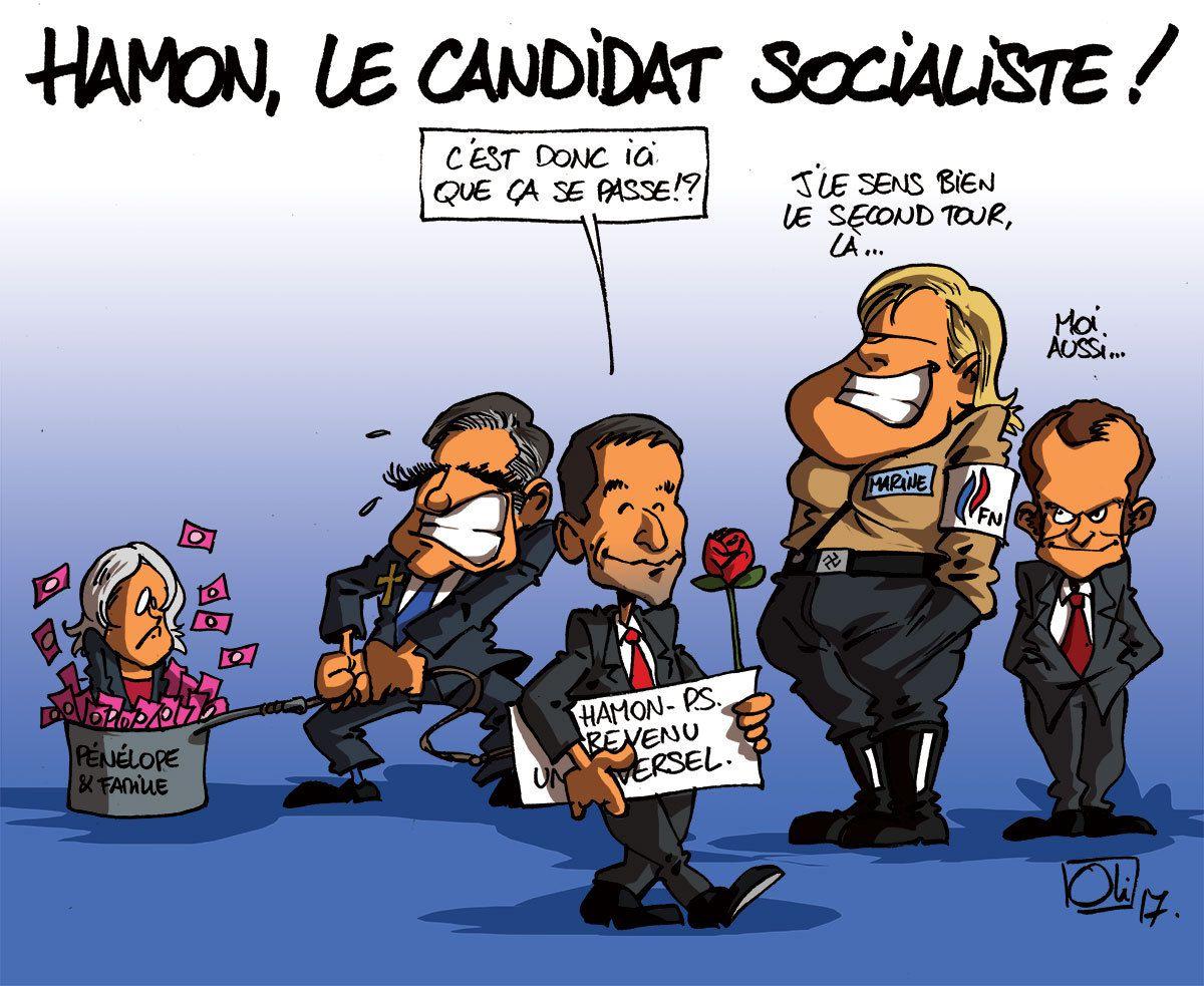 Humour sur Benoit Hamon