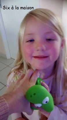 Caméléon parfum et jouet Caboux-Tchoux pour enfant