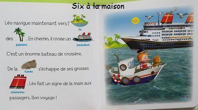 En bateau avec Léo - Pour lire ensemble P'tit garçon Fleurus