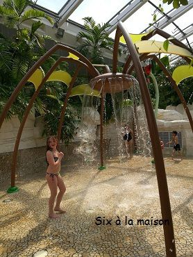 Center Parcs Bois aux daims aqua mundo spider